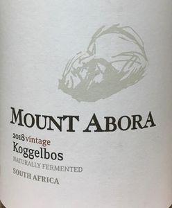 Mount Abora Koggelbos Chenin Blanc 2018