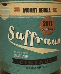 Mount Abora Saffraan Cinsault 2017