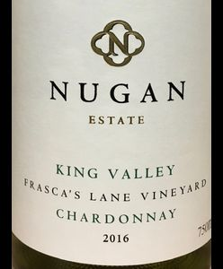 Nugan Estate King Valley Chardonnay 2016