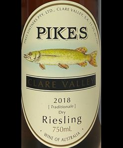 Pikes Traditional Riesling 2018