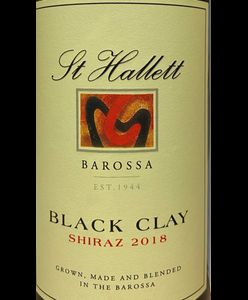 St Hallett Black Clay Shiraz 2018