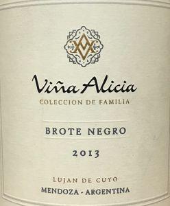 Vina Alicia Brote Negro 2013