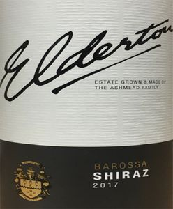 Elderton Barossa Shiraz 2017