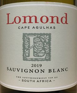 Lomond Sauvignon Blanc 2019