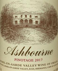 Ashbourne Pinotage 2017