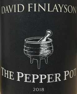 David Finlayson Pepper Pot 2018