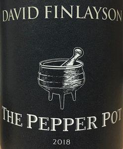 David Finlayson Pepper Pot 2018