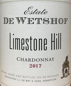 De Wetshof Limestone Chardonnay 2017