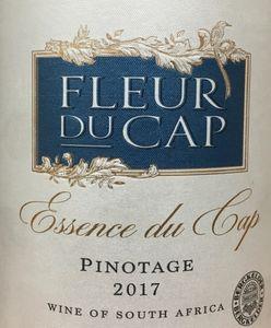 Fleur du Cap Pinotage 2017