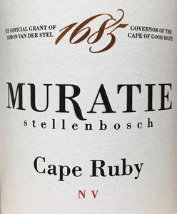 Muratie Cape Ruby Port NV