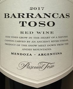 Pascual Toso Barrancas Red 2017