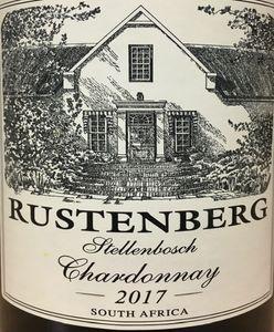 Rustenberg Chardonnay 2017