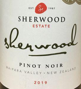 Sherwood Pinot Noir 2019