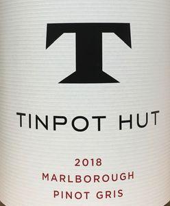 Tinpot Hut Pinot Gris 2018