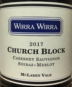 Wirra Wirra Church Block 2017