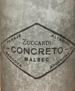 Zuccardi Concreto Malbec 2019