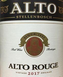 Alto Rouge 2017