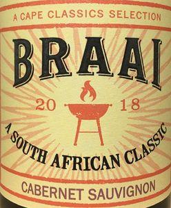 Braai Cabernet Sauvignon 2018