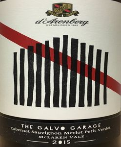 D'Arenberg The Galvo Garage 2015