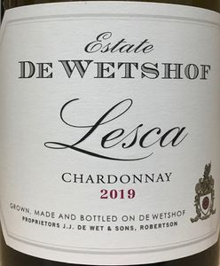 De Wetshof Lesca Chardonnay 2019