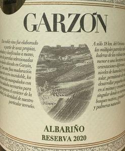 Garzon Albarino Reserva 2020