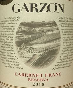 Garzon Cabernet Franc Reserva 2018