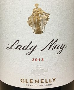 Glenelly Lady May 2013