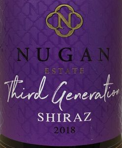 Nugan Third Generation Shiraz 2018