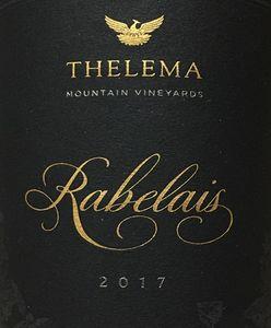 Thelema Rabelais 2017