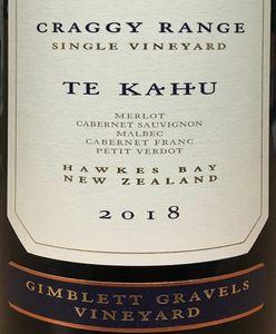 Craggy Range Te Kahu Red Blend 2018