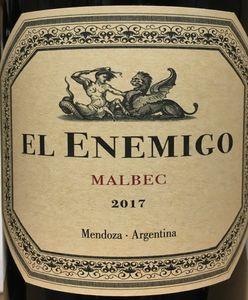 El Enemigo Malbec 2017