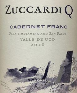 Zuccardi Q Cabernet Franc 2018