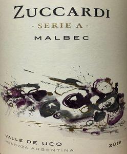 Zuccardi Serie A Malbec 2019