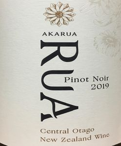 Akarua RUA 2019 Pinot Noir
