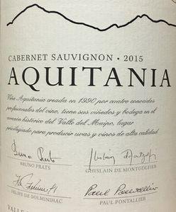 Aquitania Cabernet Sauvignon 2015