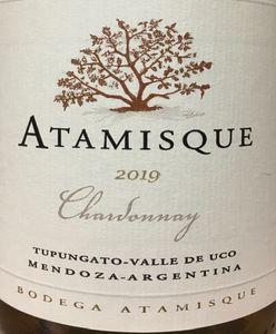 Atamisque Chardonnay 2019