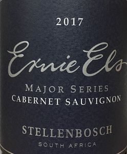 Ernie Els Major Series Cabernet Sauvignon 2017