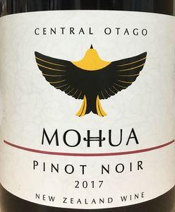 Mohua Pinot Noir 2017