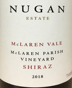 Nugan Estate Parish Shiraz 2018
