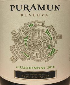 Puramun Chardonnay Reserva 2018