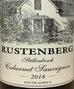 Rustenberg Cabernet Sauvignon 2018