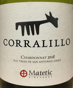 Matetic Corralillo Chardonnay 2018