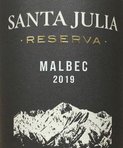 Santa Julia Malbec Reserva 2019
