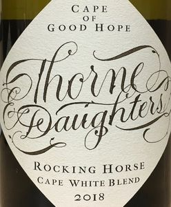 Thorne Daughters Cape White Blend 2018