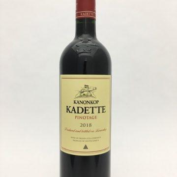 Kanonkop Pinotage Kadette 2018
