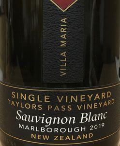 Villa Maria Taylors Pass Sauvignon Blanc 2019