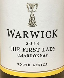 Warwick The First Lady Chardonnay 2018