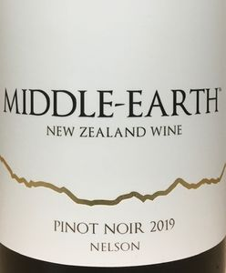 Middle Earth Pinot Noir 2019
