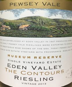 Pewsey Vale The Countours Riesling 2013