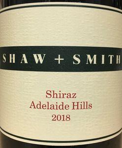 Shaw and Smith Shiraz 2018